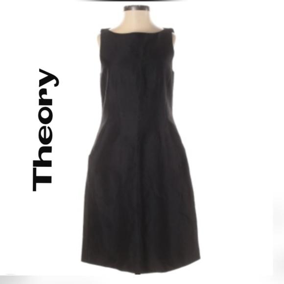 Theory BlackCasual Dress - Size 2